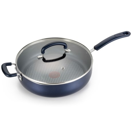 Color Luxe Nonstick Pan with Lid - 5 qt.