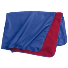 Colorado Clothing 3-in-1 Poncho Pack in Royal/Red - Closeouts