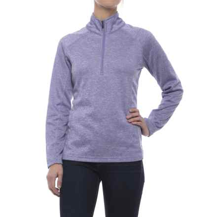 Colorado Clothing Agate Fleece Shirt - Zip Neck, Long Sleeve (For Women) in Aster - Closeouts