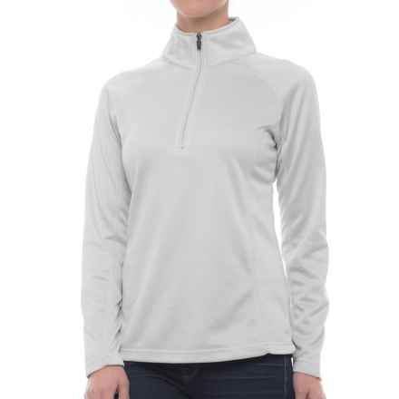 Colorado Clothing Agate Fleece Shirt - Zip Neck, Long Sleeve (For Women) in Haze - Closeouts