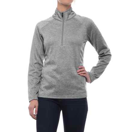 Colorado Clothing Agate Fleece Shirt - Zip Neck, Long Sleeve (For Women) in Storm - Closeouts