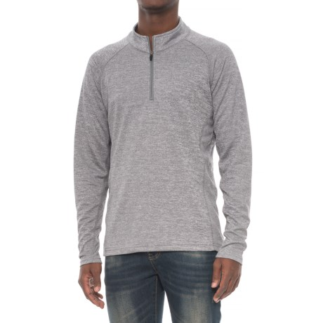 Colorado Clothing Agate Shirt - Zip Neck, Long Sleeve (For Men) in Storm