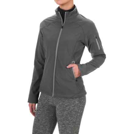 Colorado Clothing Antero Soft Shell Jacket (For Women) in City Grey - Closeouts