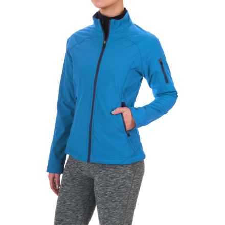 Colorado Clothing Antero Soft Shell Jacket (For Women) in Marble Blue - Closeouts