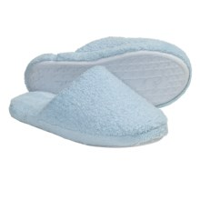 Colorado Clothing Chenille Slide Slippers (For Women) in Aquamarine - Closeouts