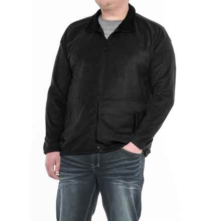 Colorado Clothing Classic Fleece Jacket (For Big Men) in Black - Closeouts
