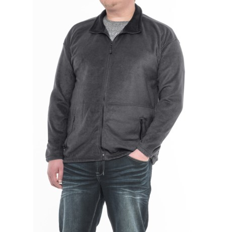 Colorado Clothing Classic Fleece Jacket (For Big Men) in Charcoal