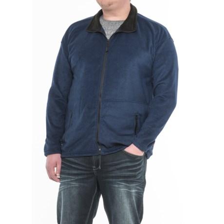 Colorado Clothing Classic Fleece Jacket (For Big Men) in Navy
