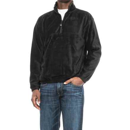 Colorado Clothing Classic Fleece Jacket - Zip Neck (For Men and Big Men) in Black - Closeouts