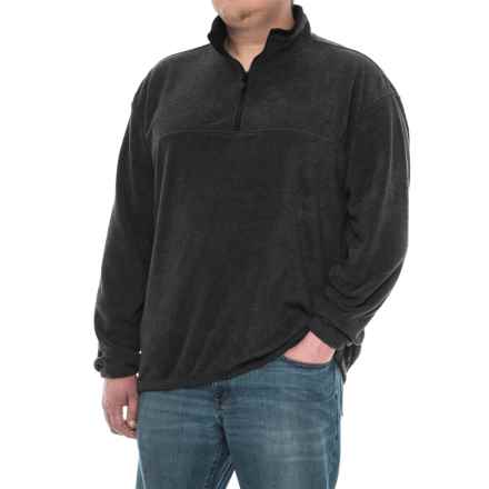 Colorado Clothing Classic Fleece Jacket - Zip Neck (For Men and Big Men) in Charcoal - Closeouts