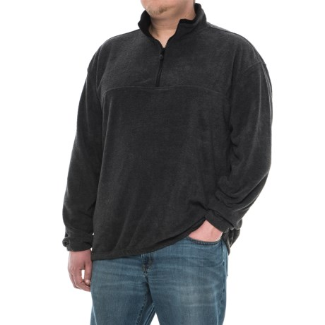 Colorado Clothing Classic Fleece Jacket - Zip Neck (For Men and Big Men) in Charcoal