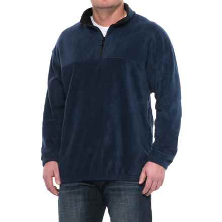 Colorado Clothing Classic Fleece Jacket - Zip Neck (For Men and Big Men) in Navy - Closeouts