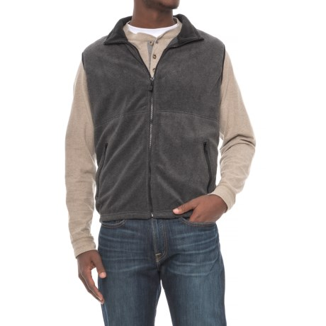 Colorado Clothing Classic Fleece Vest (For Men) in Charcoal