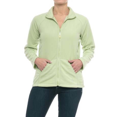 Colorado Clothing Frisco Fleece Jacket (For Women) in Wasabi