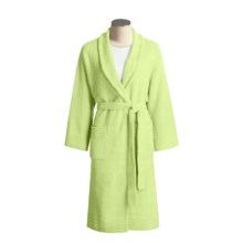 Colorado Clothing Micro Chenille Robe - Long Sleeve (For Women) in Palm - Closeouts