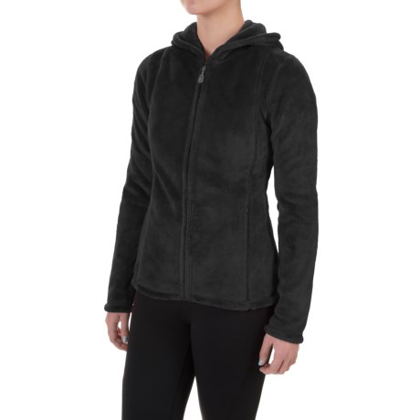 Colorado Clothing Paonia Fleece Hoodie - Full Zip (For Women) in Black