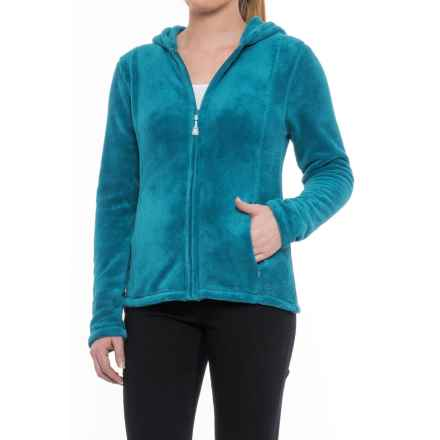 Colorado Clothing Paonia Fleece Hoodie - Full Zip (For Women) in Deep Cove - Closeouts