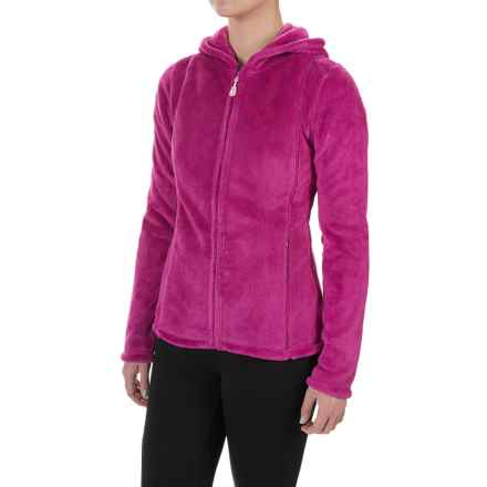 Colorado Clothing Paonia Fleece Hoodie - Full Zip (For Women) in Sangria - Closeouts