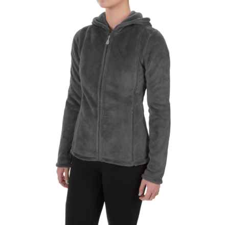Colorado Clothing Paonia Fleece Hoodie - Full Zip (For Women) in Storm - Closeouts