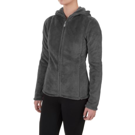 Colorado Clothing Paonia Fleece Hoodie - Full Zip (For Women) in Storm