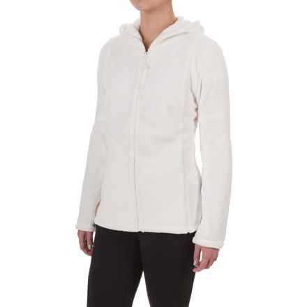 Colorado Clothing Paonia Fleece Hoodie - Full Zip (For Women) in White - Closeouts