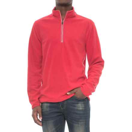 Colorado Clothing Rockvale Shirt - Zip Neck, Long Sleeve (For Men) in Red - Closeouts