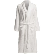 Colorado Clothing Shaggy Chic Wrap Robe - Shawl Collar (For Women) in Spa White - Closeouts