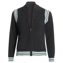 Colorado Clothing Sport Zip Jacket - Micro-Terry (For Women) in Black - Closeouts