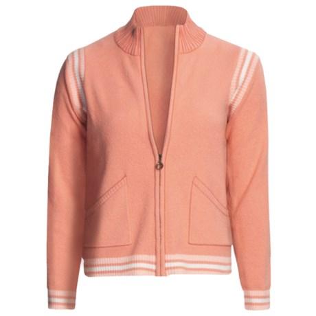 Colorado Clothing Sport Zip Jacket - Micro-Terry (For Women) in Granita
