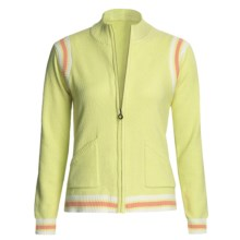 Colorado Clothing Sport Zip Jacket - Micro-Terry (For Women) in Palm - Closeouts