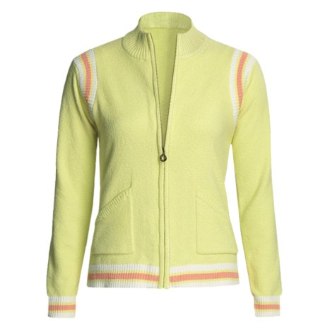 Colorado Clothing Sport Zip Jacket - Micro-Terry (For Women) in Granita