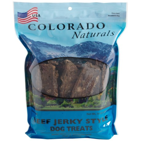 Colorado Naturals Beef Jerky Dog Treats - 16 oz. in See Photo
