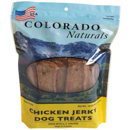 Colorado Naturals Chicken Jerky Dog Treats - 16 oz. in See Photo - Closeouts