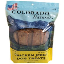 Colorado Naturals Jerky Dog Treats - 16 oz. in Chicken - Closeouts