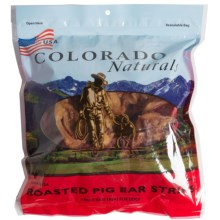 Colorado Naturals Pig Ear Strips - 24-Count in See Photo - Closeouts