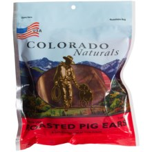 Colorado Naturals Roasted Pig Ear Chews - 3-Count in See Photo - Closeouts