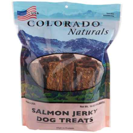 Colorado Naturals Salmon Jerky Dog Treats - 16 oz. in Salmon - Closeouts