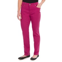Colored Jeans - Straight Leg (For Women) in Magenta - 2nds