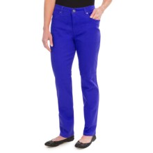 Colored Jeans - Straight Leg (For Women) in Royal - 2nds