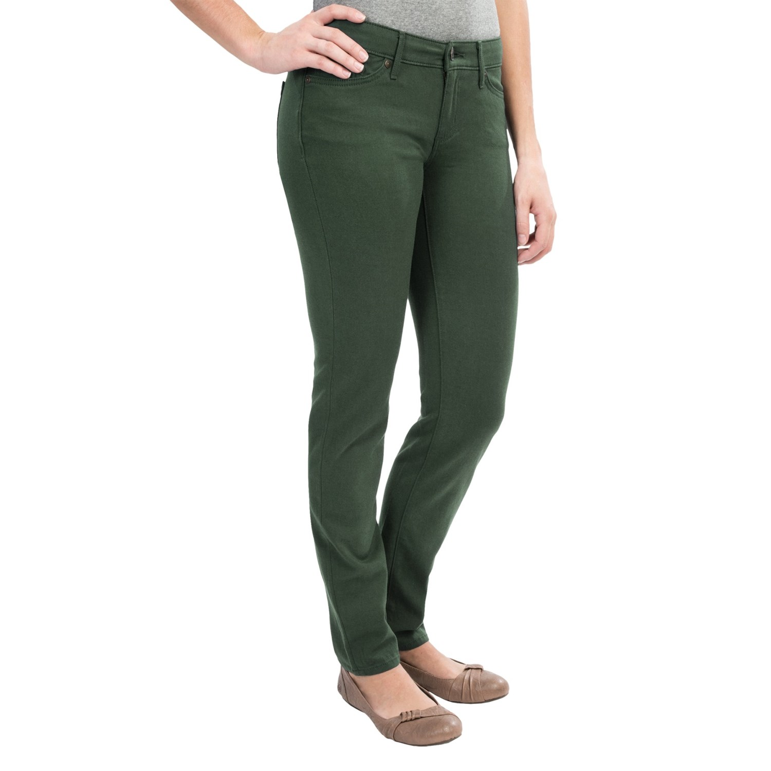 """Our Skinny Jean is the ultimate """"cool girl"""" fit made for every day. The low rise hugs your curves. The skinny thigh, slim leg and skinny leg opening give you a look that's both casual cool and easy to wear with heels for a going out look."""