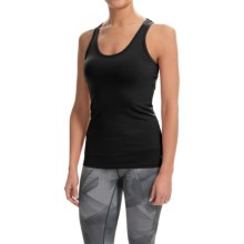 Colosseum Body Hug Tank Top - Cut-Out Back (For Women) in Black - Closeouts