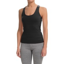 Colosseum Just For You Tank Top - Built-In Sports Bra (For Women) in Black - Closeouts