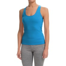 Colosseum Just For You Tank Top - Built-In Sports Bra (For Women) in Blue Surf - Closeouts