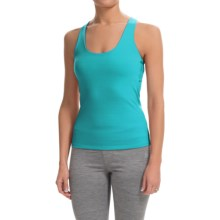 Colosseum Just For You Tank Top - Built-In Sports Bra (For Women) in Green Opal - Closeouts