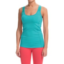 Colosseum Perfect Balance Tank Top (For Women) in Green Opal - Closeouts