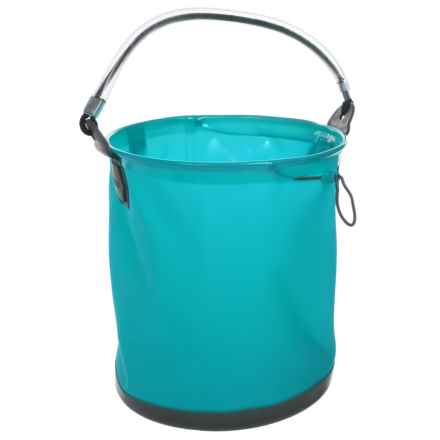 ColourWave Collapsible All-Purpose Bucket - 2.6 gallon in Blue - Closeouts