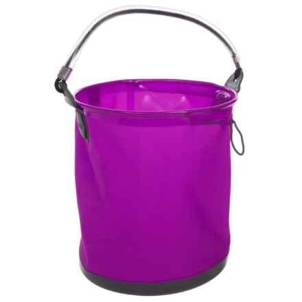 ColourWave Collapsible All-Purpose Bucket - 2.6 gallon in Purple - Closeouts