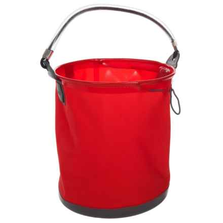 ColourWave Collapsible All-Purpose Bucket - 2.6 gallon in Red - Closeouts