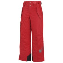 Columbia Bugaboo Snow Pants - Insulated (For Boys) in Intense Red - Closeouts