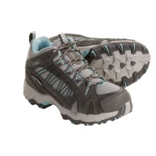 Columbia Footwear Tagori Mid Hiking Boots - Waterproof, Omni-Tech® (For Youth) in Charcoal/Wave - Closeouts